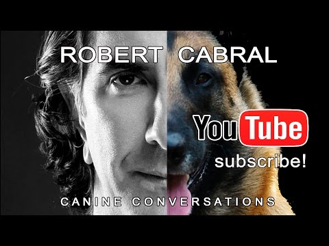 Robert Cabral - Dog Trainer, Spokesman, Advocate - Founder and Director of Bound Angels