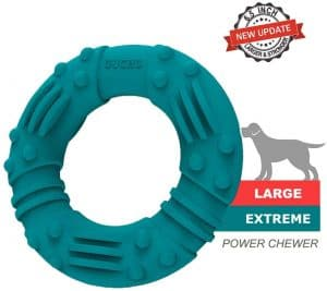 Product picture of the GUCHO ultra durable dog chew toy.